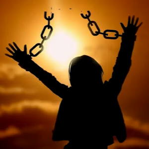 When Jesus sets us free, there is nothing hidden in our hearts any longer.