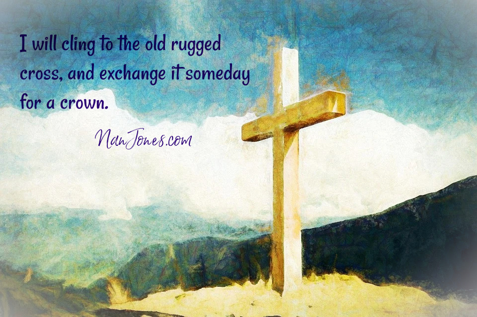 The Old Rugged Cross Found on Gossamer Wings of Butter
