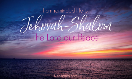 A Prayer to Let the Peace of God Rule  Amidst the Chaos