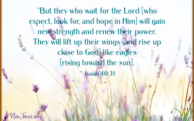 A Prayer to Hurry Up and Wait … For the Appointed Time