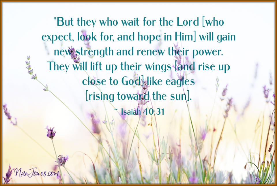 If we feel we must hurry up and wait, are we really trusting God?