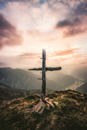The old rugged cross is enough. It leads us straight to Jesus.