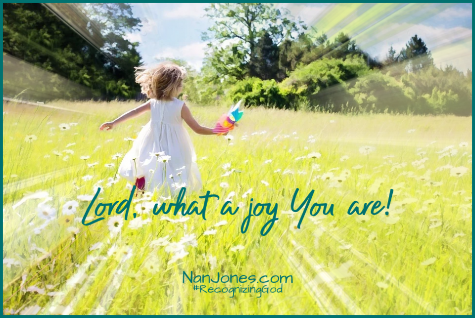 Count it all joy, no matter what comes your way. God is with you in the difficult place.