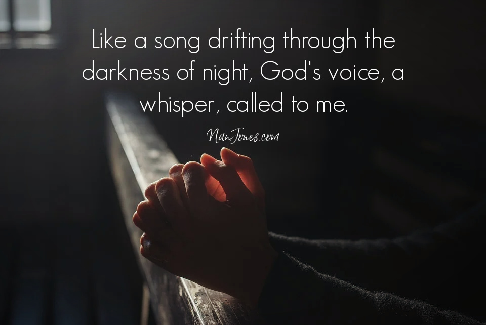 how to recognize God's voice