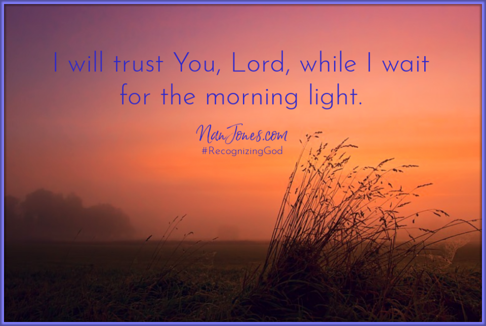 At midnight I will rise to give thanks to You,