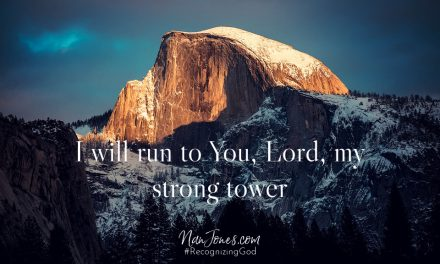 Prayer: Running to the Strong Tower Of God Trying Not to Trip