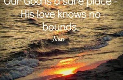 Finding God's Presence ~ Break Free the Shackles