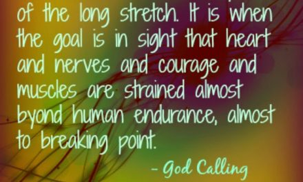 Finding God's Presence ~ Beyond Human Endurance