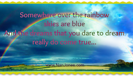 Finding God's Presence ~ Somewhere Over the Rainbow
