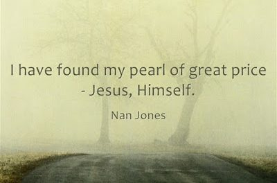 Finding God's Presence ~ How I Found My Pearl Of Great Price