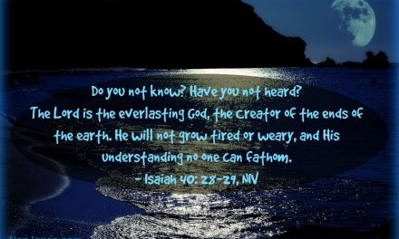 Finding God's Presence ~ Can a Winter Storm Be Ruled By God's Sovereignty?