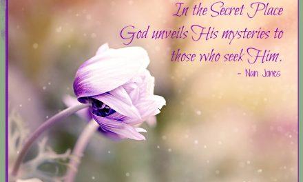 Finding God's Presence ~ The Mystery of God's Everlasting Love