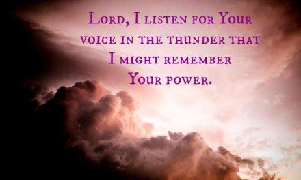 Finding God ~ A Prayer to Know God's Abiding Presence