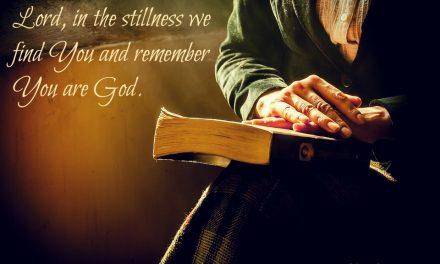 Finding God's Presence ~ A Prayer to Step Into the Light of Grace