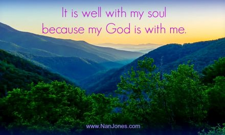 Finding God's Presence ~ Even When I Don't Want To