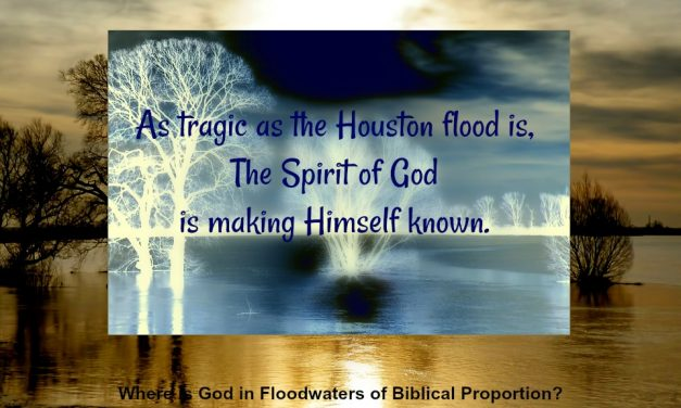 Finding God's Presence ~ Where is God in Floodwaters of Biblical Proportion?