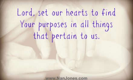 Finding God's Presence ~ A Prayer When I Want Jesus to Be The Ruler of My Heart