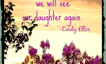 Faith Notes ~ Cindy Eller: Where is God When a Daughter is Murdered?