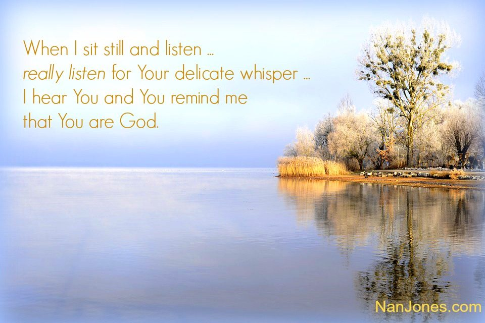 Finding God's Presence ~ A Prayer to Grasp the Name of Jesus