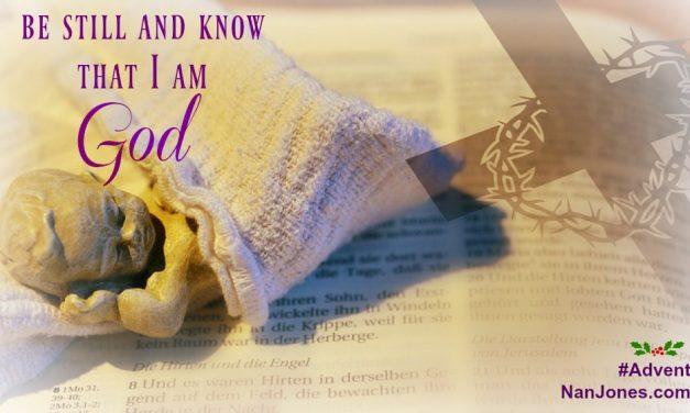 Advent Prayer ~ Learning to Be Still