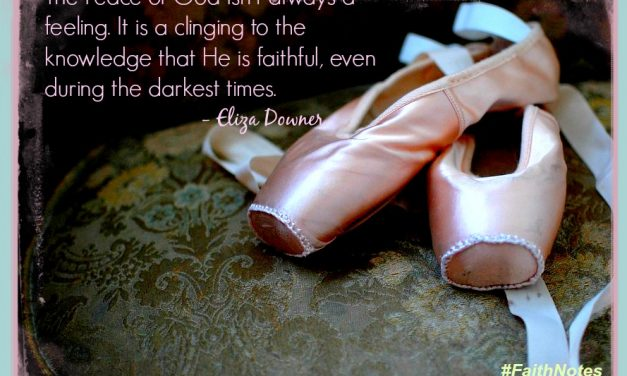 Faith Notes ~ Eliza Downer: You Give and Take Away. Blessed Be Your Name