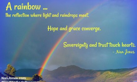 Finding God's Presence ~ Where is God While the Storm Passes By?
