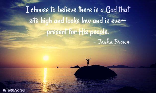 Faith Notes ~ Tasha Brown: Finding God Through Unimaginable Loss