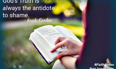 Faith Notes ~ Kristi Carden: Would My Protective Wall Ever Come Tumbling Down?
