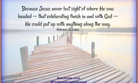 Finding God's Presence ~ When Morningsong Broke Through the Silence
