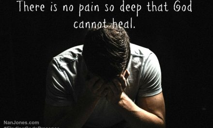 Finding God's Presence ~ Scars Reveal Deep Pain Healed by God's Grace