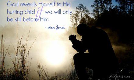 Finding God's Presence ~ Shriveled Faith and Hope Restored