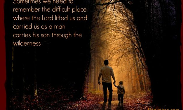 Thus Far He Has Helped Us