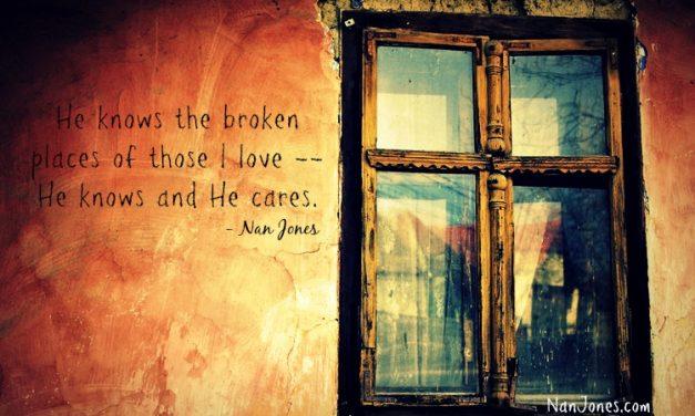 When Crushing Burdens Meet the Hem of His Garment