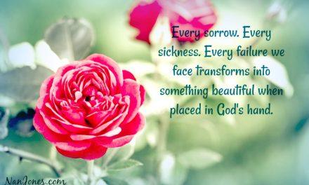 With Spirit Parched, God's Grace Rains Down