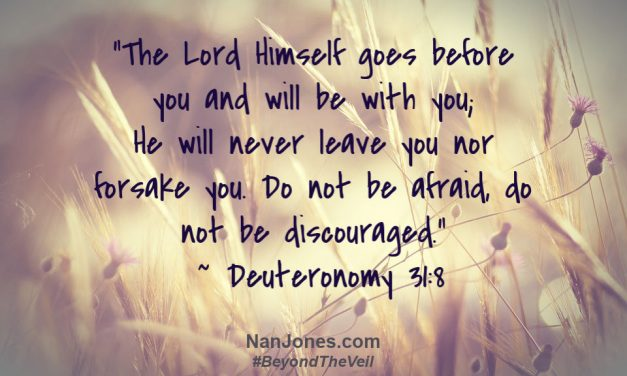 The Lord Goes Before Us Into the Storm