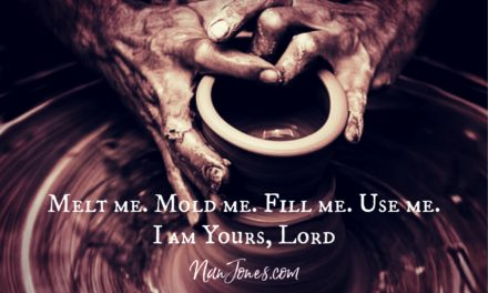 A Prayer When the Hand of Our Potter is Applying Pressure