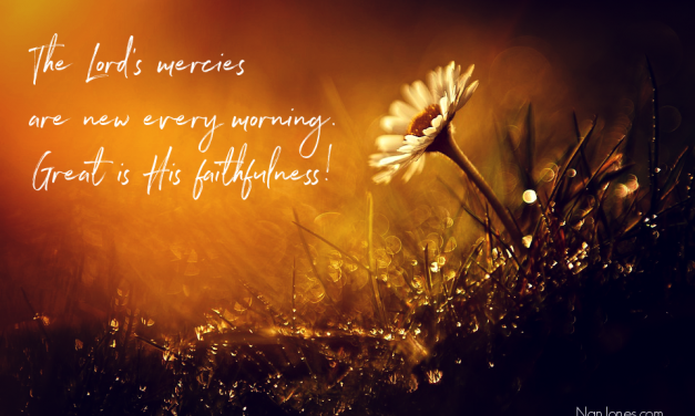 Hope in God Restored as The Morning Dew Signals a New Day