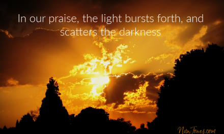 A Prayer as Your Light Grows Dim and Darkness Consumes