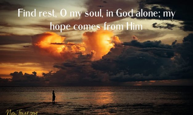 Hope is Among Us, especially in the Midst of Heavy Burdens