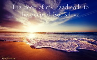 Call Me From the Deep, Lord, I'm Drowning! ~ a Prayer