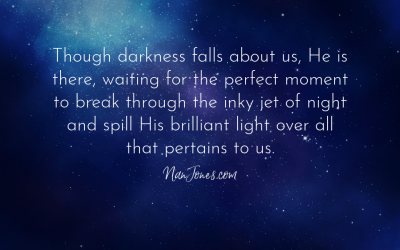 When Complete Darkness Remains, where is God's Light?