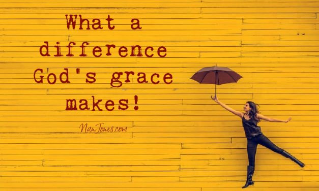 What Difference Does the Grace of God Make?
